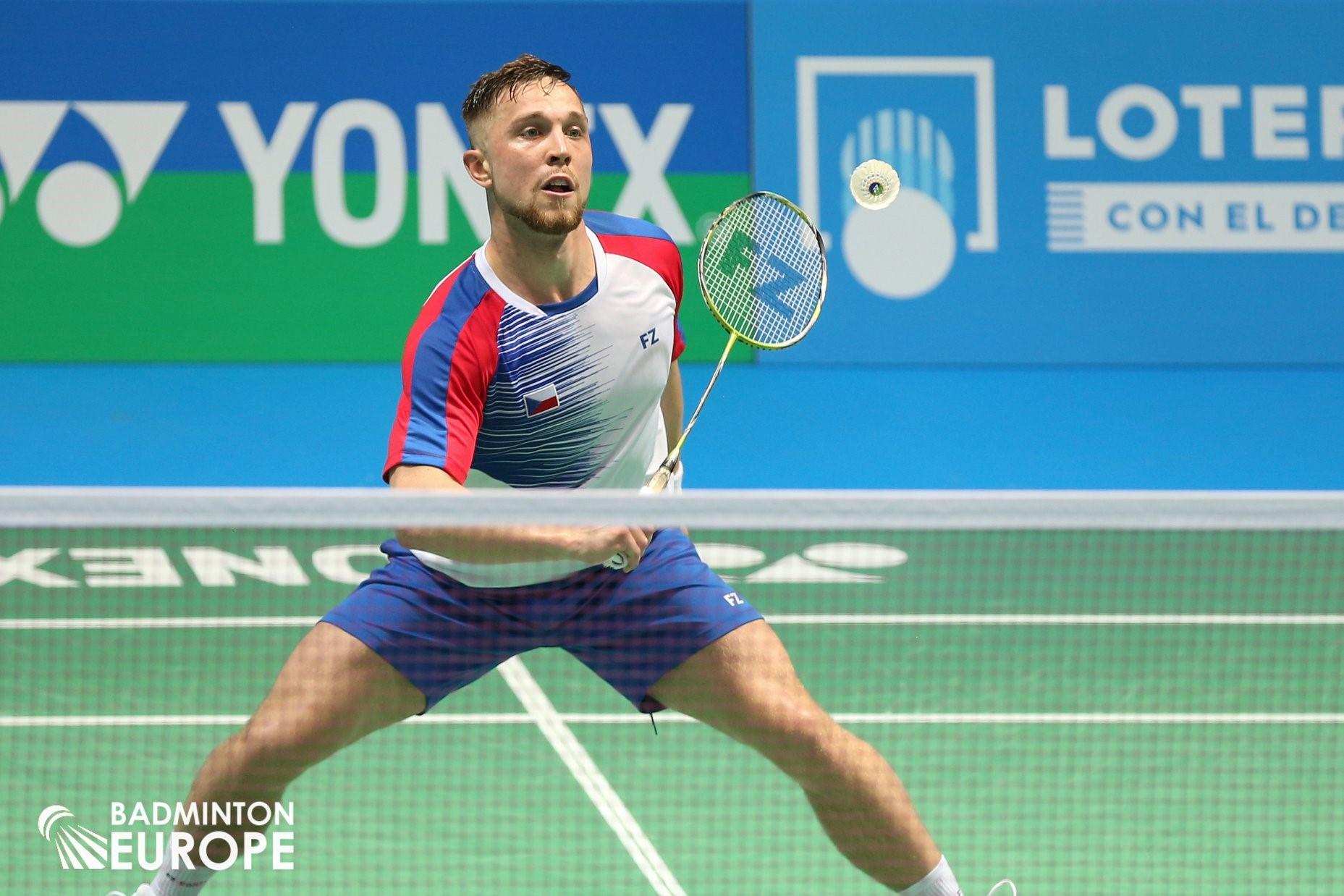 Adam Mendrek. Foto: Mark Phelan / Badminton Europe